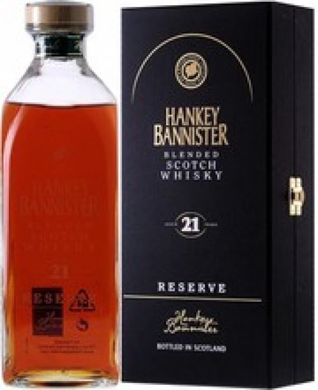 """Hankey Bannister"" 21 Years Old, gift box"
