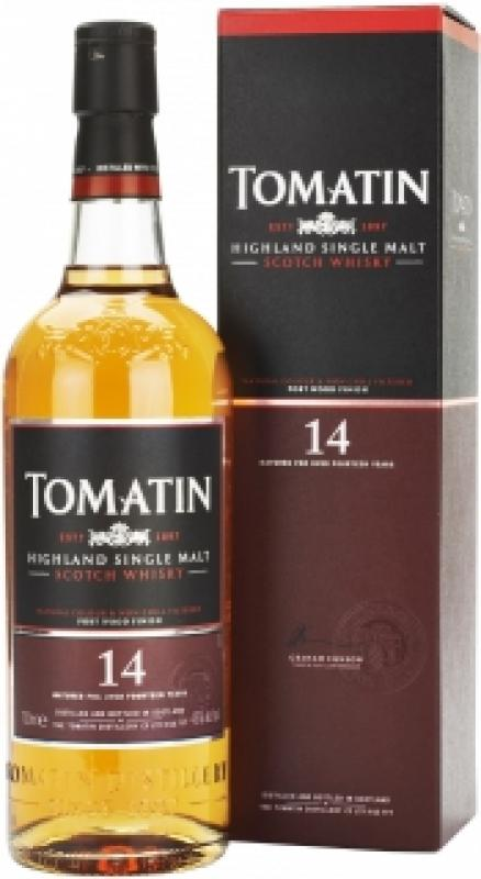 Tomatin 14 Years Old, gift box