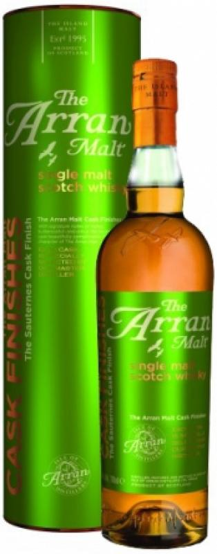 Arran Sauternes Cask Finish, in tube