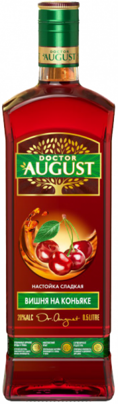 """Doctor August"" Cherry on Cognac"