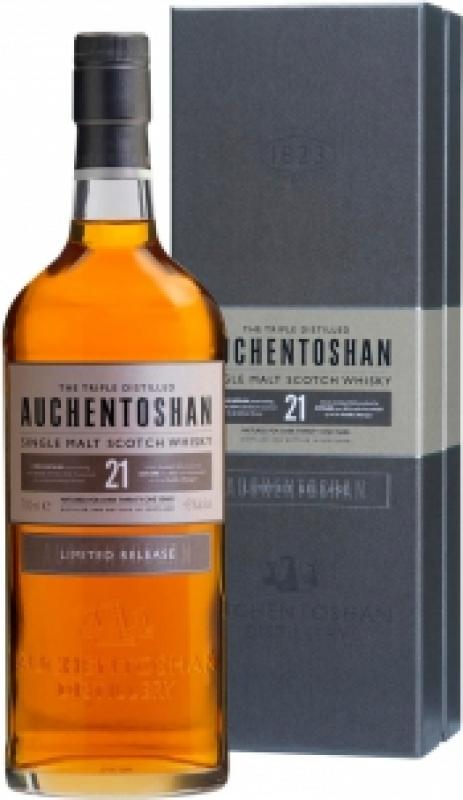 Auchentoshan 21 Years Old, gift box