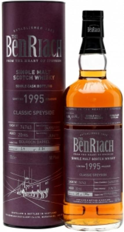 "Benriach ""Classic Speyside"", 20 Years Old, 1995, in tube"