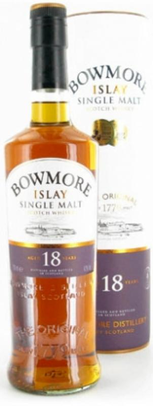 Bowmore 18 Years Old, In Tube