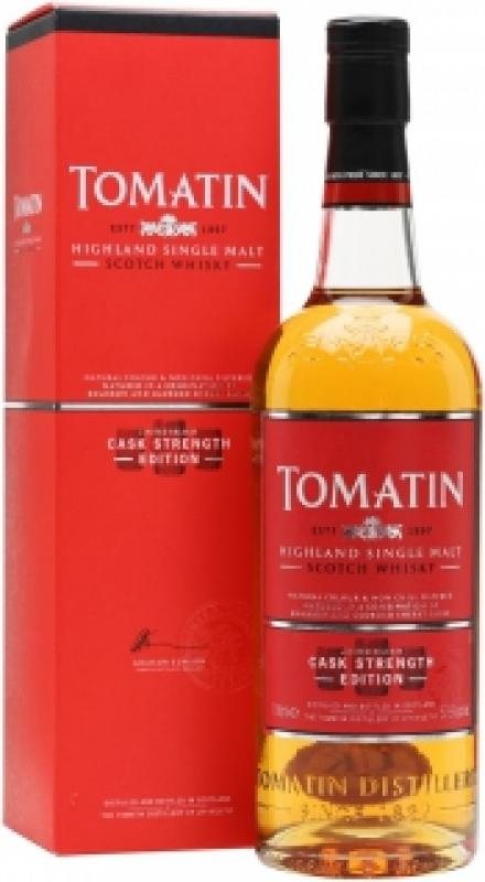 Tomatin, Cask Strength Edition, gift box