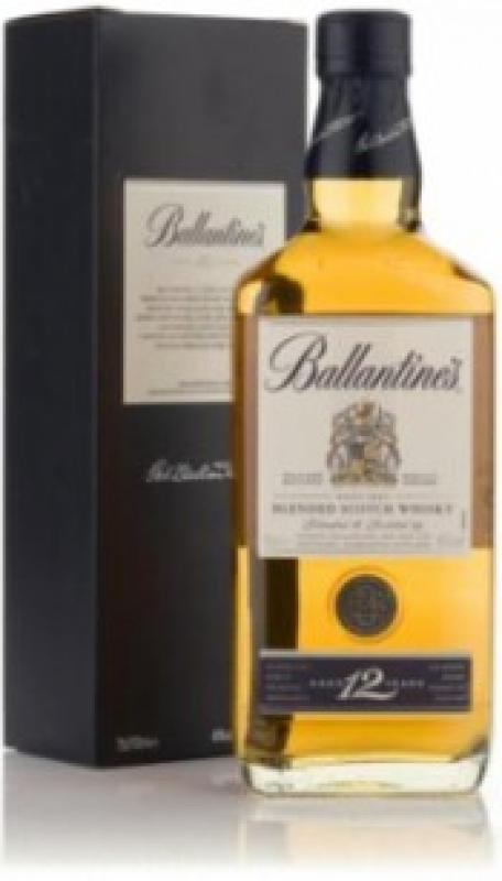 Ballantine's 12 Years Old, with box