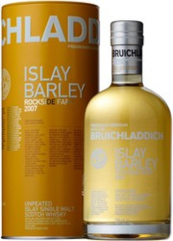 "Bruichladdich, ""Islay Barley"" Rockside Farm, 2007, in tub"