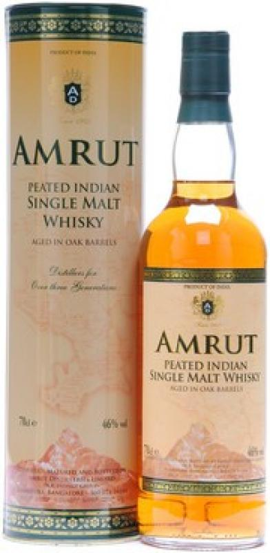 """Amrut"" Peated, in tube"