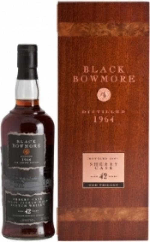 Bowmore Black 42 Years Old, gift box