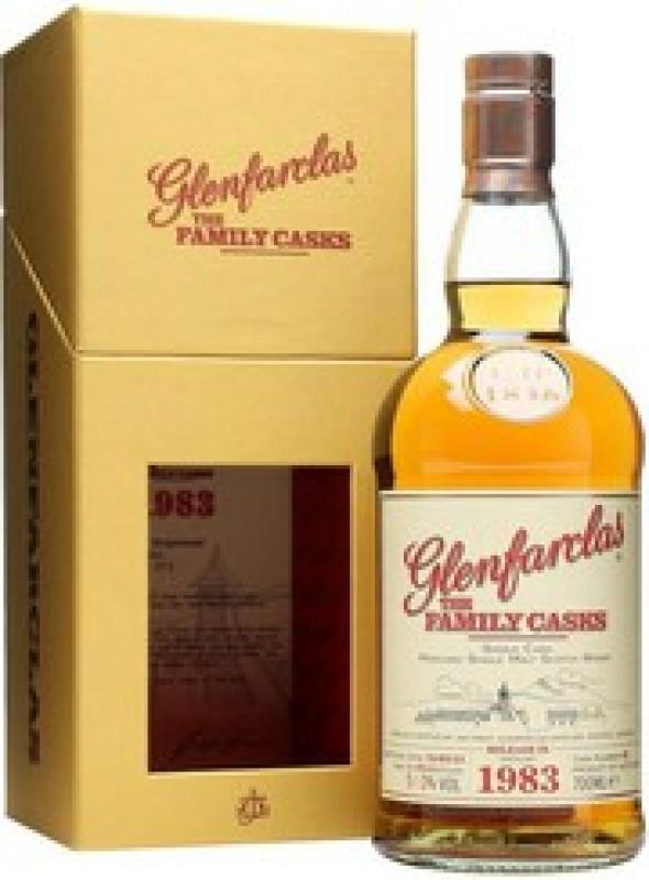 "Glenfarclas 1983 ""Family Casks"", in gift box"