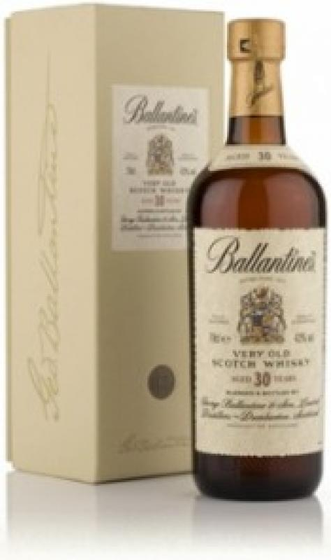 Ballantine's 30 years old, with box