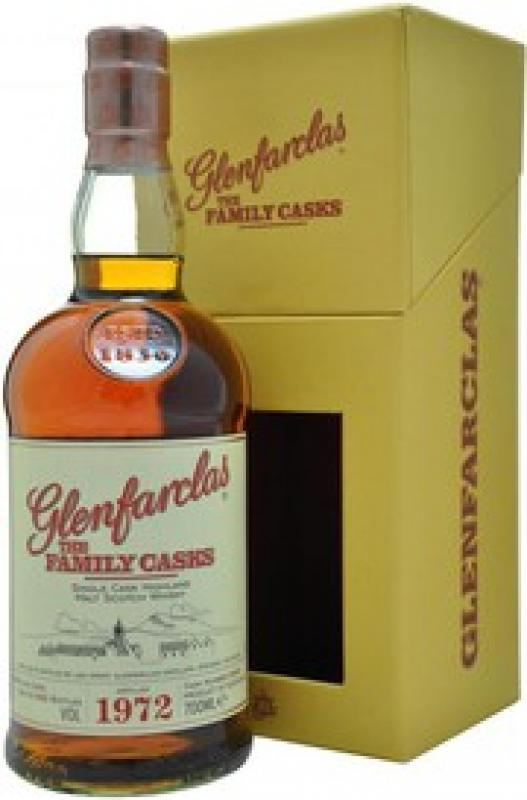 "Glenfarclas 1972 ""Family Casks"", in gift box"