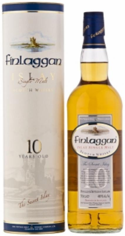"Finlaggan ""Lightly peated"" Islay Single Malt Scotch Whisky 10 years old, with box"