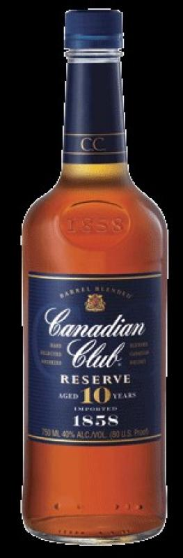 Canadian Club Reserve aged 10 years