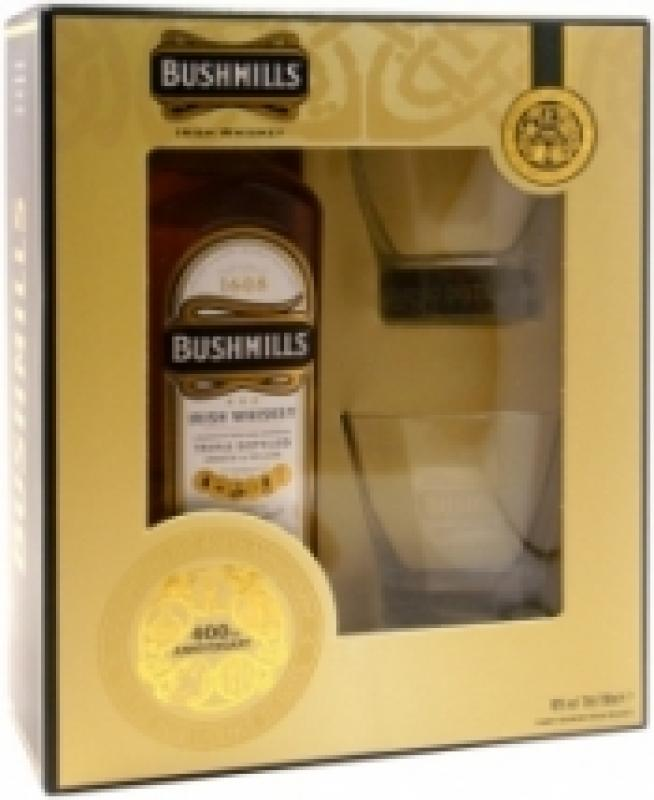 Bushmills Original, with 2-glass box