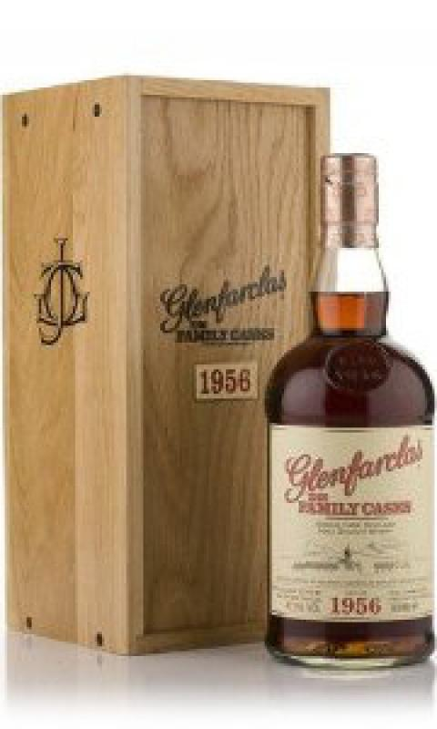 Glenfarclas 1956 Family Casks, in wooden box