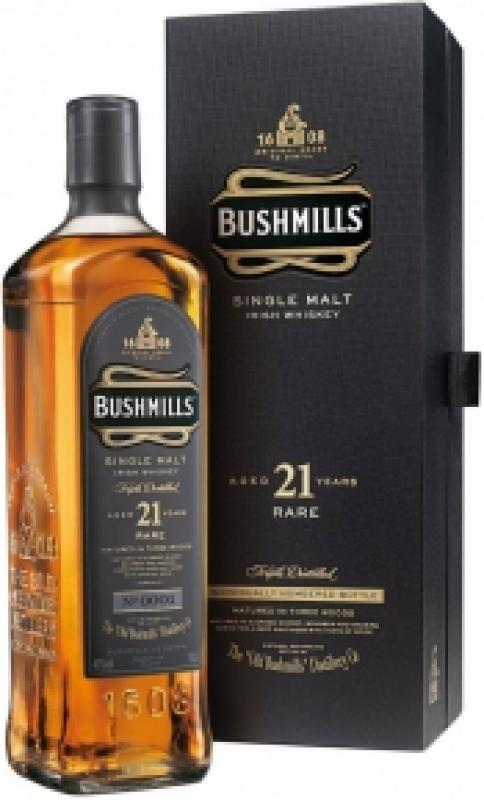 Bushmills 21 Years Old, gift box