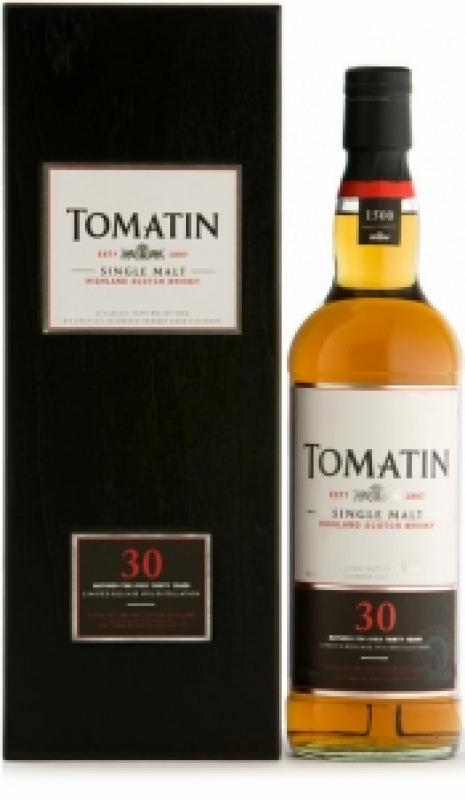 Tomatin 30 years old, gift box