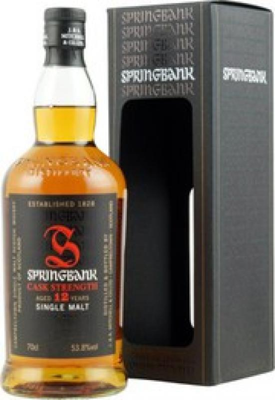 Springbank Cask Strength (53.8%) 12 Year Old, gift box
