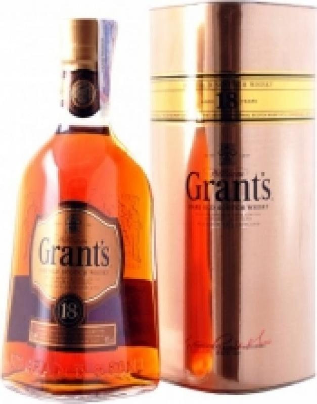 Grant's Rare Old, Aged 18 Years, gift tube