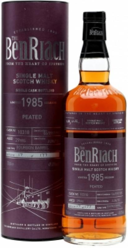 """Benriach """"Peated"""", 29 Years Old, 1985, in tube"""
