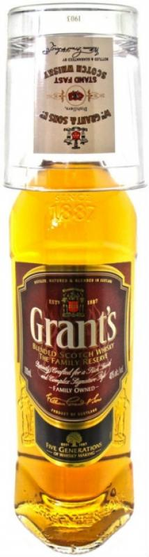 Grant's Family Reserve & glass