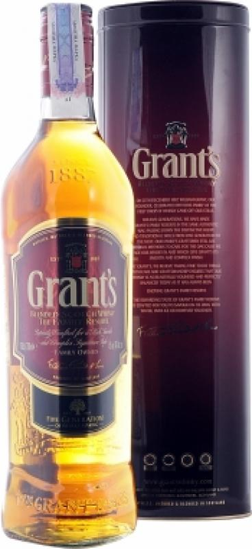 Grant's, Family Reserve, metal tube