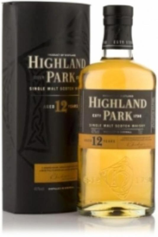 Highland Park 12 Year Old, with box
