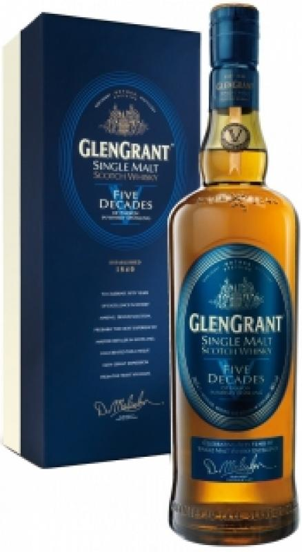 "Glen Grant, ""Five Decades"", gift box"