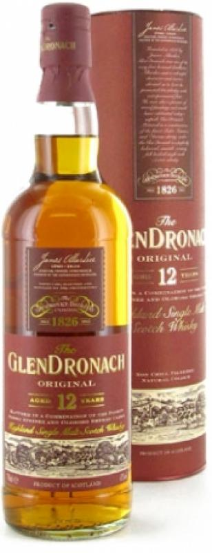 Glendronach Original 12 years old, in Tube