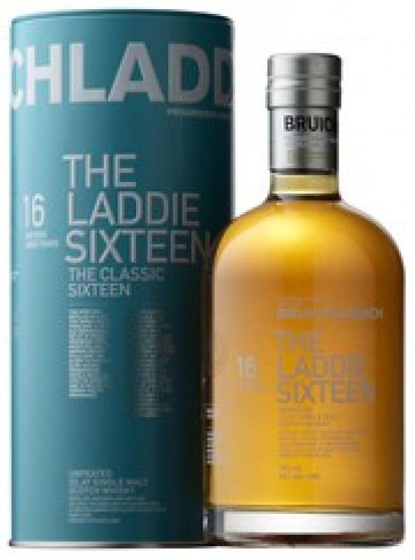 "Bruichladdich, ""The Laddie"" 16 Years Old, in tube"