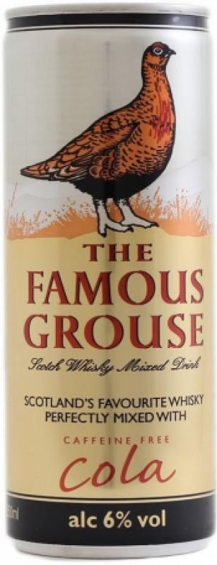 The Famous Grouse Finest & Cola, in can