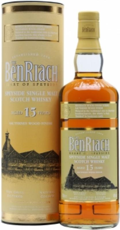 "Benriach ""Sauternes Wood Finish"", 15 Years Old, in tube"