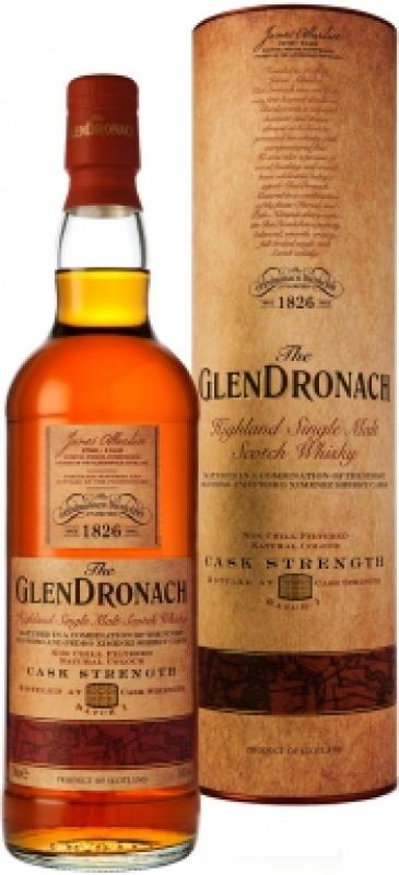 Glendronach Cask Strength, in tube