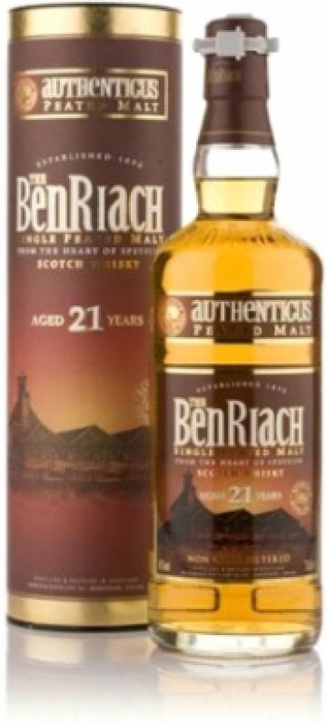 Benriach Authenticus 21 years old, In Tube