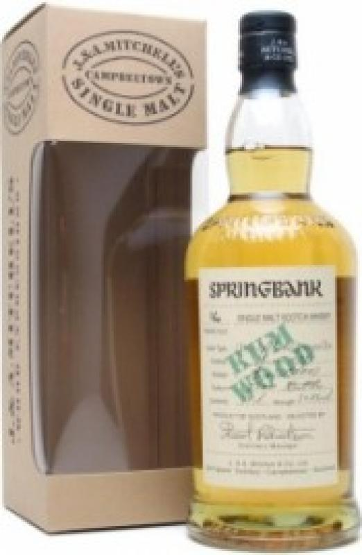 Springbank 16 years old Rum Finish, gift box
