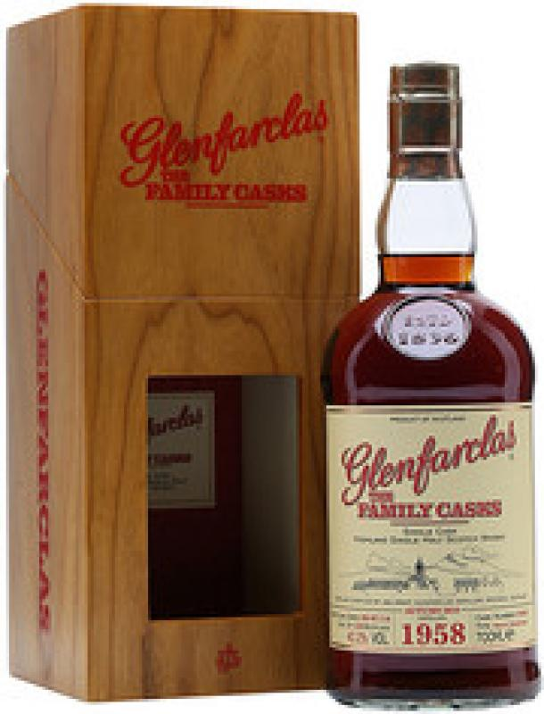Glenfarclas 1958 Family Casks (40,2%), in gift box