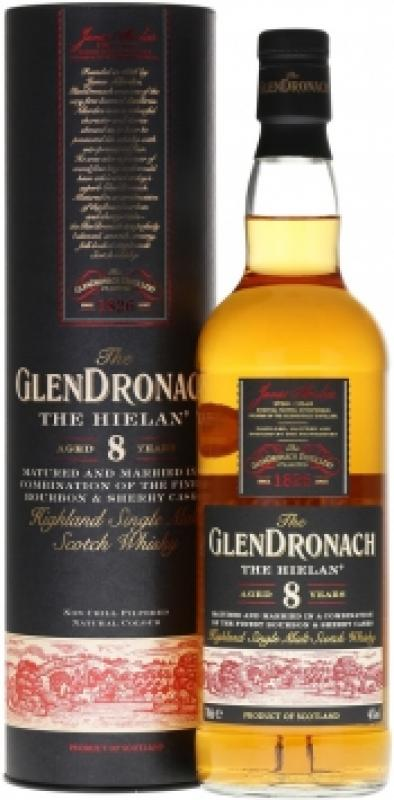 "Glendronach, ""The Hielan"" 8 Years Old, in tube"