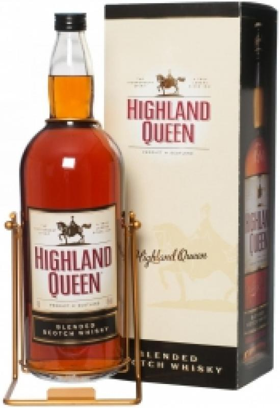 """Highland Queen"", 3 Years Old, with cradle in gift box"