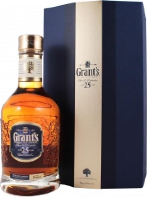 Grant's 25 Years Old, gift box