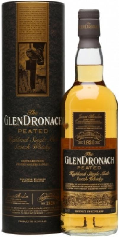 Glendronach Peated, in tube