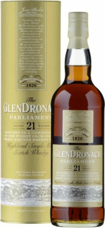 "Glendronach, ""Parliament"" 21 Years Old, in tube"