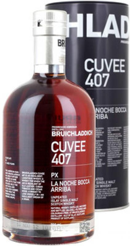 "Bruichladdich, ""Cuvee 407"" PX, 21 Years Old, in tube"