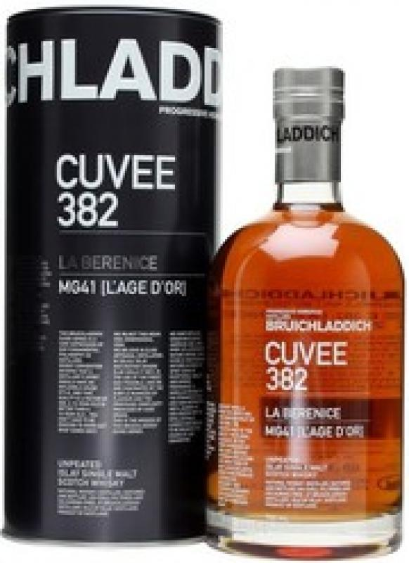"Bruichladdich, ""Cuvee 382: La Berenice"" 21 Years Old, in tube"