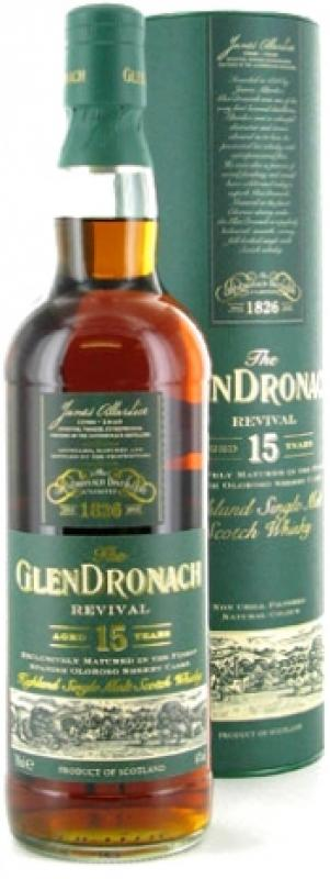 Glendronach Revival 15 years old, In Tube