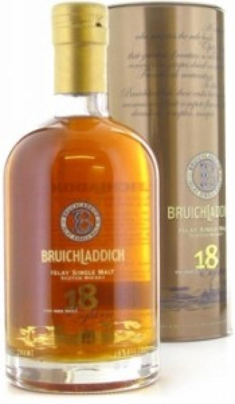 Bruichladdich 18 years, In Tube
