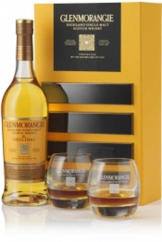 Glenmorangie The Original with 2 glasses in gift box