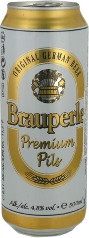 """Brauperle"" Premium Pils, in can"