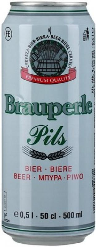"""Brauperle"" Pils, in can"