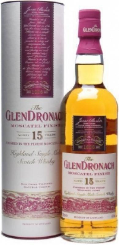 "Glendronach ""Moscatel Finish"" 15 years old, in tube"