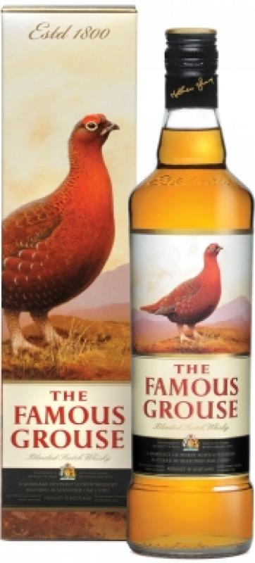 The Famous Grouse Finest, with box